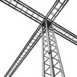金属建筑系统 库存照片