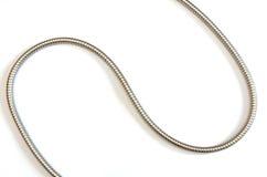 金属水管曲线 库存照片