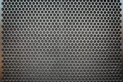 金属滤网无缝的样式 免版税库存图片