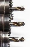 金属钻头 库存图片