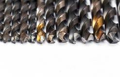 金属钻头 图库摄影