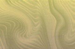 金属backgound基本金子的绿色 免版税库存照片