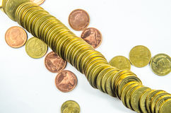 金币 免版税图库摄影