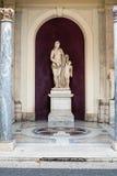 金星有她的儿子丘比特雕塑的菲利克斯金星 免版税库存照片