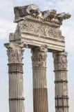 金星Genetrix寺庙  意大利罗马 库存照片
