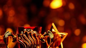 金杯子演播室hd英尺长度 影视素材