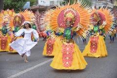 金枪鱼节日在三投斯将军市市,菲律宾 免版税图库摄影