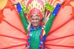 金枪鱼节日在三投斯将军市市,菲律宾 免版税库存照片