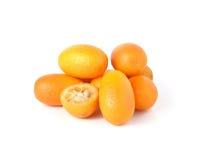 金桔果子 图库摄影