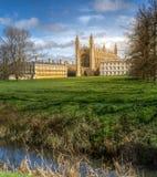 金氏学院教堂在剑桥 库存照片