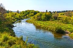 金河Suenga河Berd的附庸国 西伯利亚, Ru 免版税库存图片