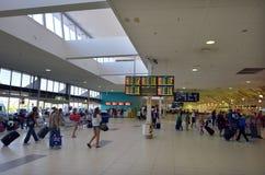 黄金海岸机场国际机场 免版税库存照片