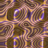 金液体漩涡 图库摄影