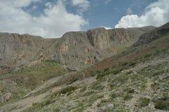 金牛座山 火鸡 峭壁和峡谷 雪 免版税库存照片
