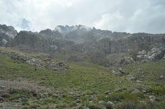 金牛座山 火鸡 峭壁和峡谷 库存照片