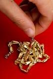 金珠宝 免版税库存照片