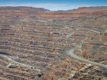 金矿, Karlgoorlie,西澳州 免版税库存照片