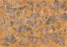 金箔古铜纹理背景 免版税图库摄影