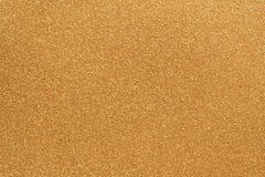 金粒状纸背景纹理 免版税库存图片