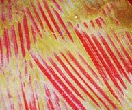 金红色黄色闪耀的蜡烧了在金子颜色的淡色抽象背景 库存照片