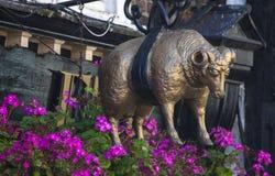 金羊毛在约克 免版税库存照片