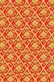 金花泰国艺术设计。 免版税图库摄影