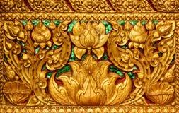 金莲花泰国绘画 免版税库存图片