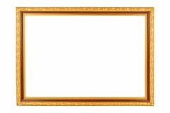金葡萄酒框架 免版税库存照片
