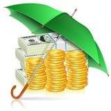 金融稳定性概念 库存例证