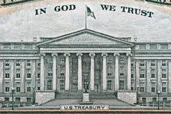 金融管理系统我们 免版税库存照片