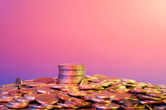 金融管理系统 免版税图库摄影