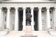 金融管理系统Dept 免版税库存照片