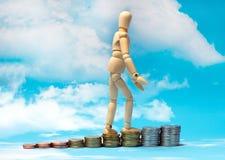 金融风险保险  库存照片