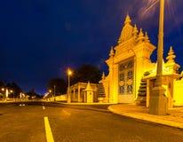金边柬埔寨2015年8月 免版税库存照片