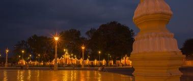 金边,柬埔寨王宫 免版税库存照片