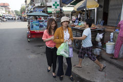 金边,柬埔寨 库存图片