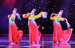 金达赖---韩国舞蹈 免版税图库摄影