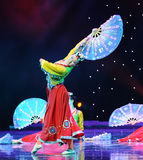金达赖---韩国舞蹈 库存图片