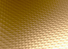 金金属背景金黄网格图形 免版税库存照片