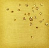 金钢掠过的纹理和箔下落 免版税库存照片