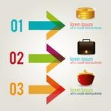 金钱和业务设计 库存图片