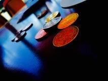 金钱和事务、成交和付款在一个真正的企业世界 免版税图库摄影