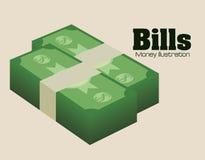 金钱和投资 免版税库存图片