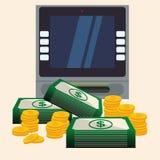 金钱和投资 免版税库存照片