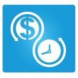 金钱和时间安排 免版税图库摄影
