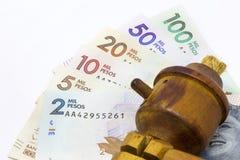 金钱和谎言 库存图片