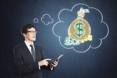 金钱和财富概念 免版税库存图片
