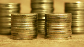 金钱和财富概念横幅 免版税库存照片