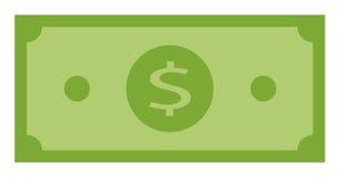 金钱捆绑美元钞票 皇族释放例证