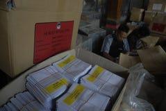 金钱政治印度尼西亚人民主 库存照片